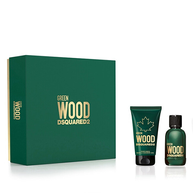 Dsquared² Green Wood  EDT 30 ml  sprchový gel 50 ml