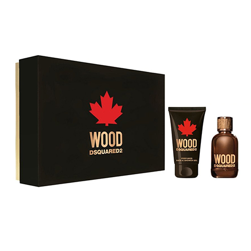 Dsquared² Wood For Him  EDT 30 ml  sprchový gel 50 ml