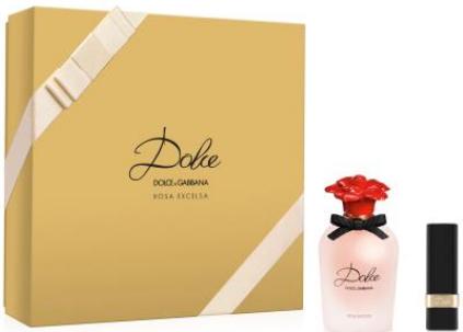 Dolce & Gabbana Dolce Rosa Excelsa - EDP 50 ml + rtěnka Dolce Matte darčeková sada