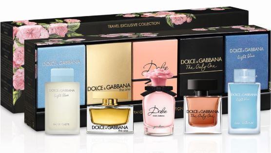 Dolce & Gabbana Kolekce miniatur - EDP 7,5 ml + EDP 2 x 5 ml + EDT 4,5 ml + EDP 4,5 ml