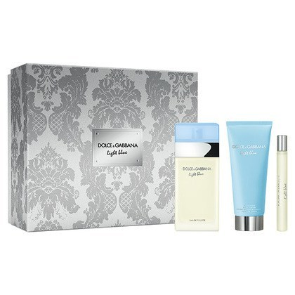 Dolce & Gabbana Light Blue - EDT 100 ml + telový krém 100 ml + EDT 10 ml