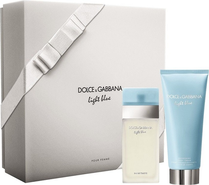 Dolce & Gabbana Light Blue - EDT 25 ml   telový krém 50 ml