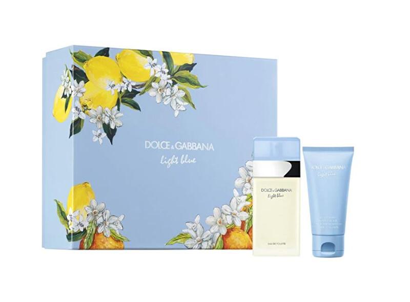 Dolce & Gabbana Light Blue – EDT 50 ml + telový krém 50 ml