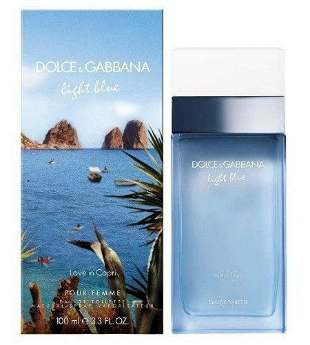 Dolce & Gabbana Light Blue Love In Capri Woman - EDT 100 ml