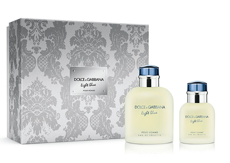 Dolce   Gabbana Light Blue Pour Homme - EDT 125 ml   EDT 40 ml