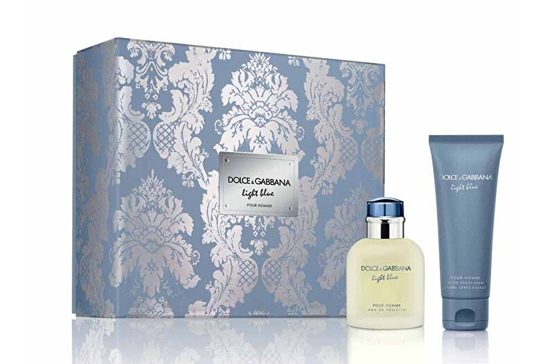 Dolce   Gabbana Light Blue Pour Homme - EDT 75 ml   balzám po holení 75 ml