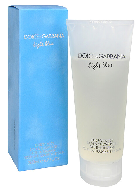Dolce & Gabbana Light Blue sprchový gél 200 ml