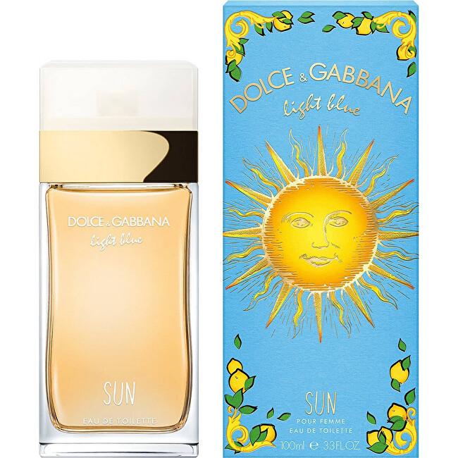 Dolce & Gabbana Light Blue Sun toaletní voda dámská 100 ml