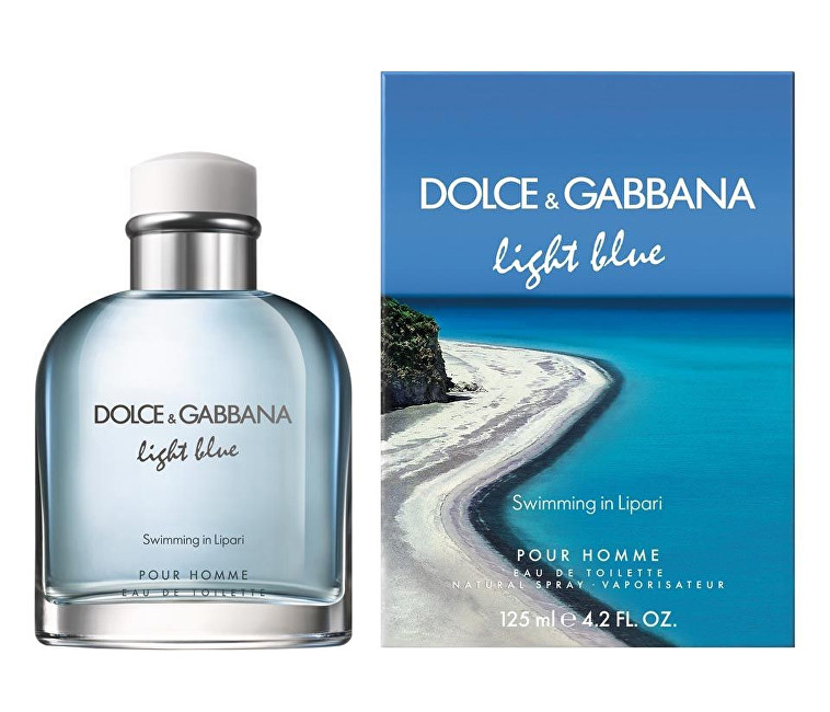 Dolce & Gabbana Light Blue Swimming In Lipari Pour Homme - EDT 125 ml