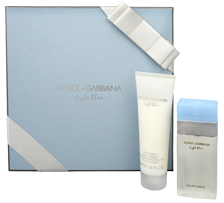Dolce & Gabbana Light Blue - EDT 25 ml + telové mlieko 50 ml