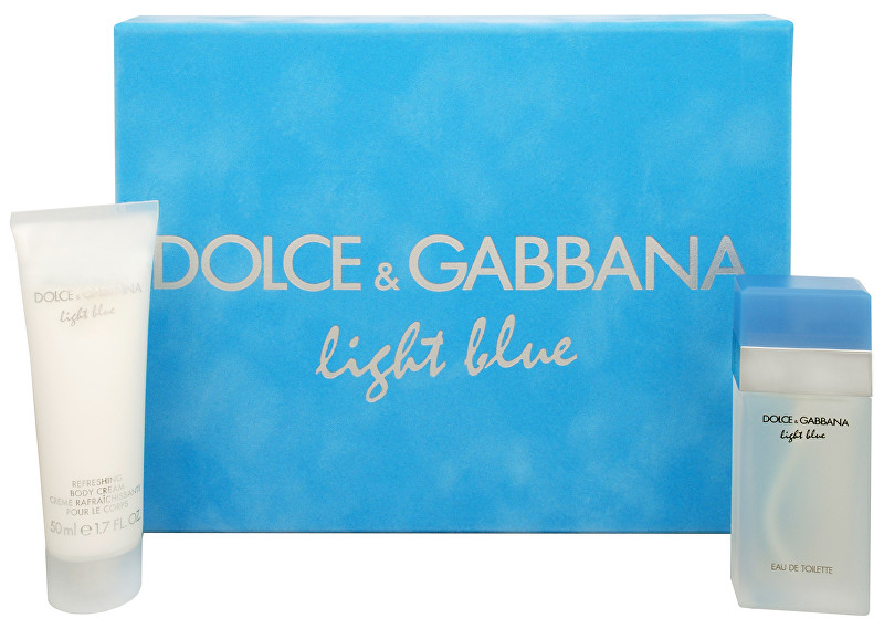 Dolce & Gabbana Light Blue - EDT 25 ml + telový krém 50 ml