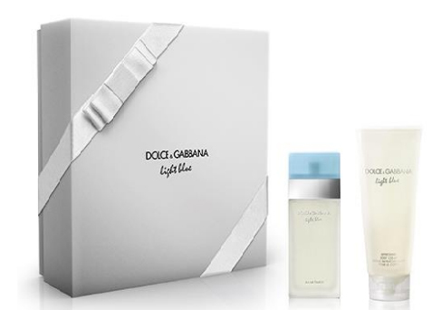Dolce & Gabbana Light Blue - EDT 50 ml + telový krém 100 ml