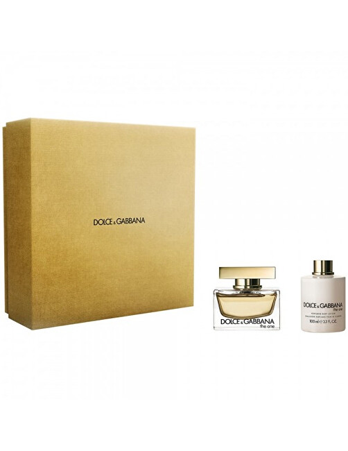 Dolce  Gabbana The One  EDP 75 ml  tělové mléko 100 ml