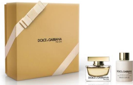 Dolce & Gabbana The One - EDP 50 ml + tělové mléko 100 ml