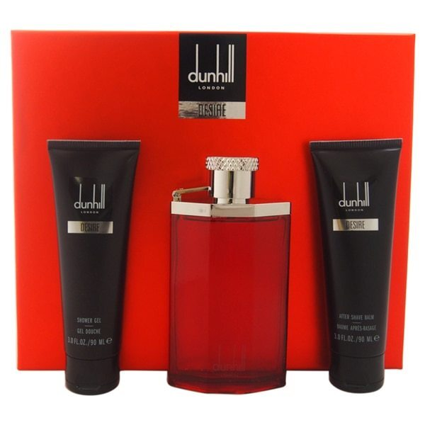 Dunhill Desire For A Man  EDT 100 ml  sprchový gel 90 ml  balzám po holení 90 ml  taštička