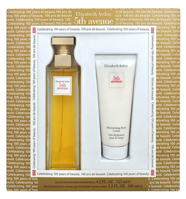 Elizabeth Arden 5th Avenue - EDP 125 ml   telové mlieko 100 ml