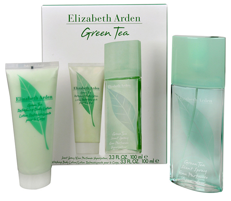 Elizabeth Arden Green Tea - EDP 100 ml + tělové mléko 100 ml