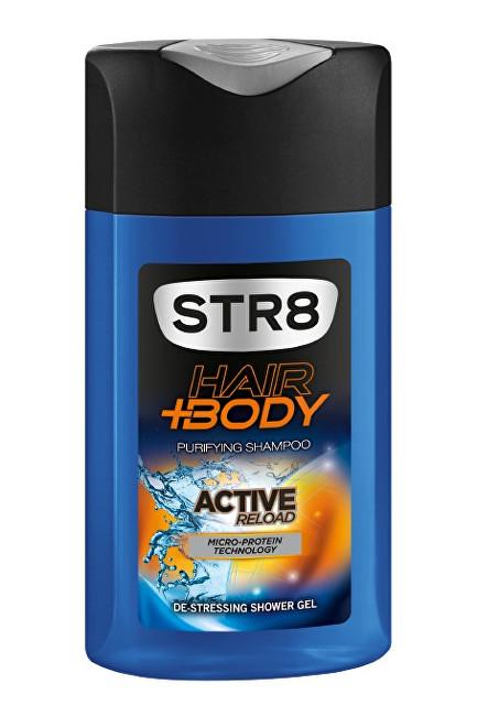STR8 Active Reload - sprchový gel 400 ml