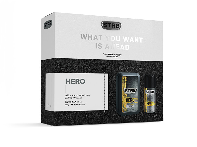 STR8 Hero - voda po holení 100 ml + deodorant ve spreji 150 ml