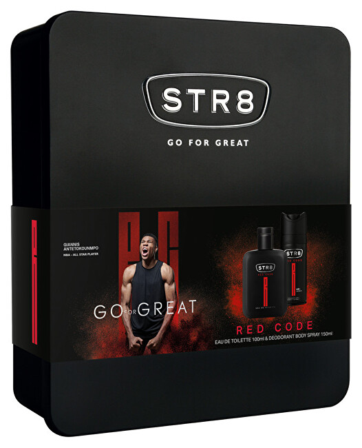 STR8 Red Code - EDT 50   dezodorant v spreji 150 ml