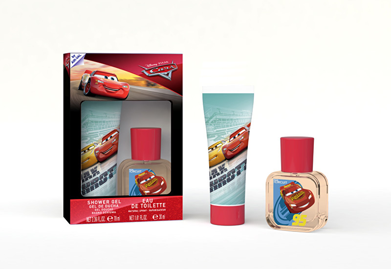 EP Line Cars 3 - EDT 30 ml   sprchový gél 70 ml