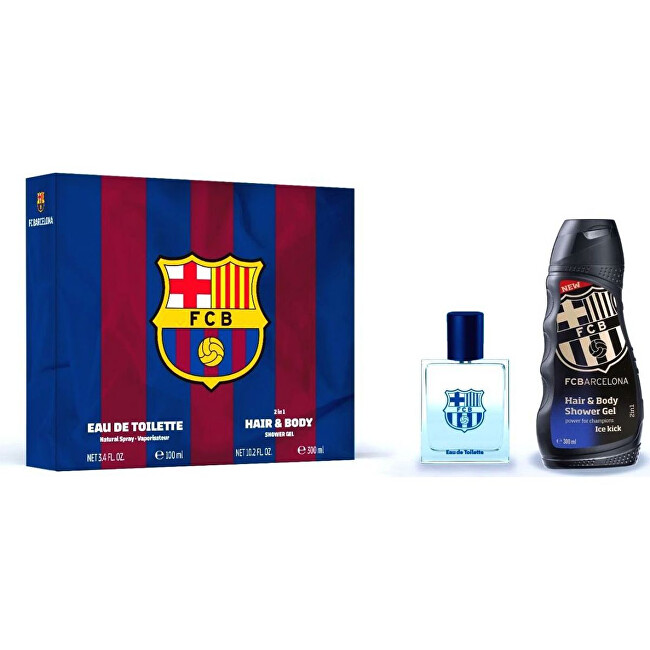 EP Line FC Barcelona - EDT 100 ml + sprchový gel 300 ml