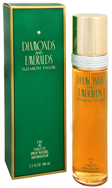ELIZABETH TAYLOR Diamonds and Emeralds toaletná voda dámska 100 ml