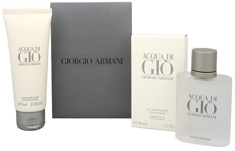 Armani Acqua Di Gio Pour Homme - EDT 50 ml + balzám po holení 75 ml