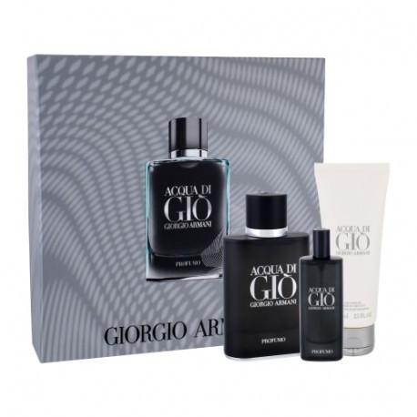 Armani Acqua di Gio Profumo - EDP 75 ml + EDP 15 ml + sprchový gel 75 ml