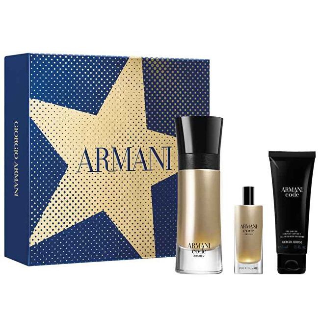 Armani Code Absolu - EDP 110 ml + EDP 15 ml + sprchový gel 75 ml