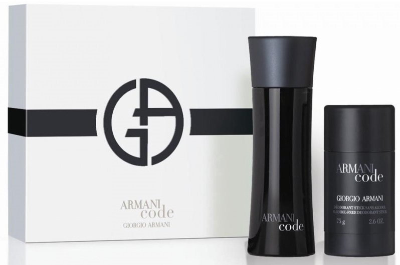 Armani Code For Men - EDT 75 ml   tuhý deodorant 75 ml