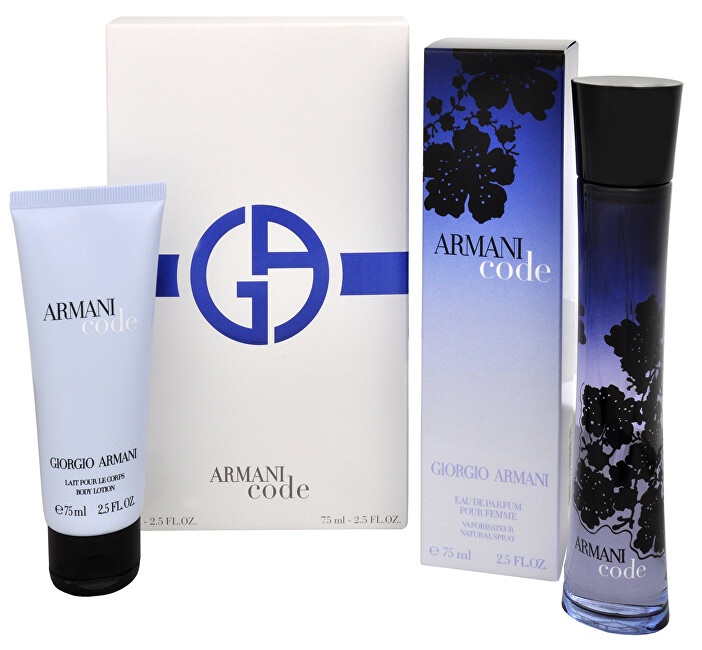 Armani Code For Women - EDP 75 ml + tělové mléko 75 ml