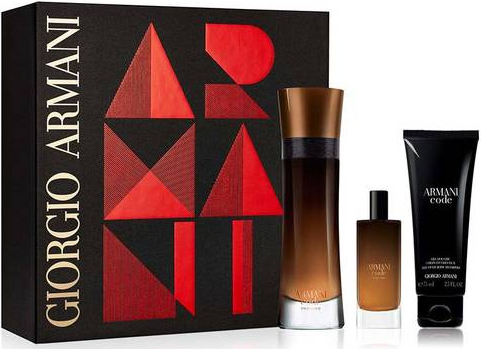 Armani Code Profumo - EDP 110 ml + sprchový gel 75 ml + EDP 15 ml