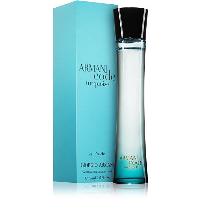 Armani Code Turquoise For Women - EDT 75 ml