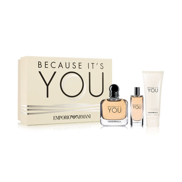 Armani Emporio Armani Because It's You - EDP 100 ml   EDP 15 ml   telové mlieko 75 ml