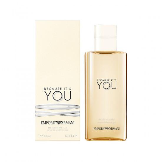Armani Emporio Armani Because It's You - sprchový gel 200 ml