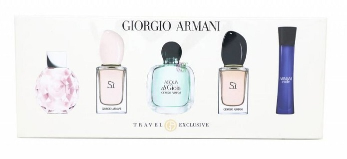 Armani Kolekce miniatur - EDP 7 ml + EDT 7 ml + EDP 5 ml + EDT 5 ml + EDP 3 ml