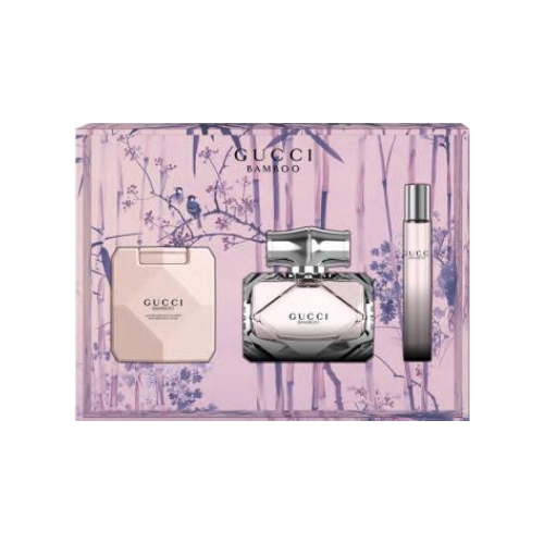 Gucci Gucci Bamboo - EDP 75 ml + loțiune de corp 100 ml + roll-on 7,4 ml