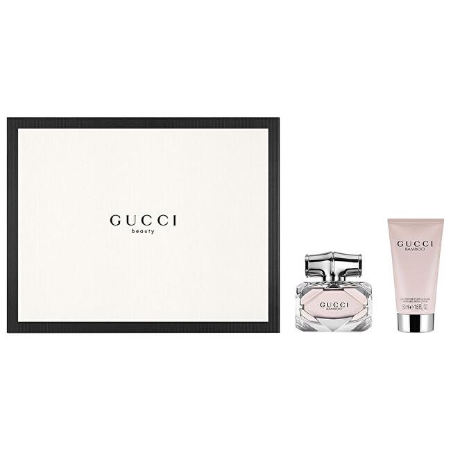 Gucci Bamboo EdP 75 ml + EdT 7,4 ml + telové mlieko 100 ml darčeková sada