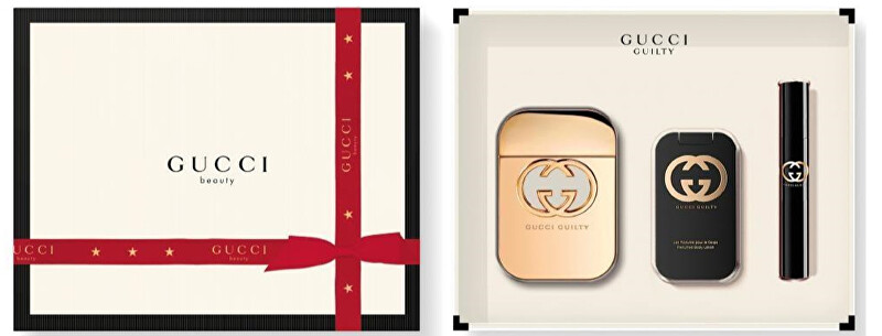 Gucci Guilty - EDT 75 ml + sprchový gél 100 ml + EDT 7,4 ml
