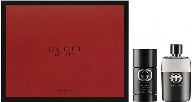Gucci Guilty Pour Homme - EDT 50 ml + tuhý deodorant 75 ml