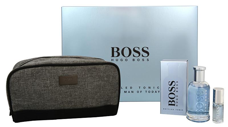 Hugo Boss Boss Bottled Tonic - EDT 100 ml + cestovní sprej 8 ml + kosmetická taška