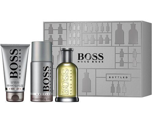 Hugo Boss Boss Bottled No.6 pro muže EDT 100 ml + sprchový gel 100 ml + deospray 150 ml dárková sada