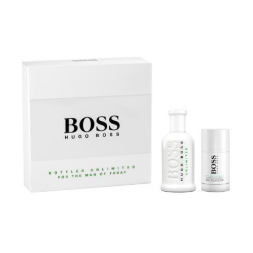 Hugo Boss Boss No. 6 Bottled Unlimited - EDT 100 ml + tuhý dezodorant 75 ml