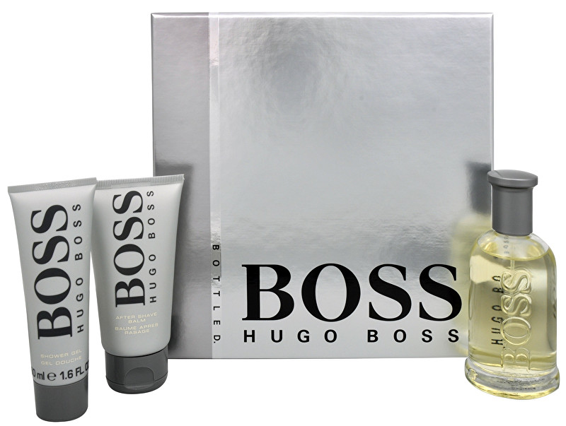 Hugo Boss Boss No. 6 - EDT 100 ml + balzam po holení 75 ml + sprchový gél 50 ml
