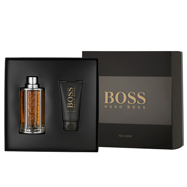 Hugo Boss Boss The Scent - EDT 200 ml + balzam po holení 75 ml