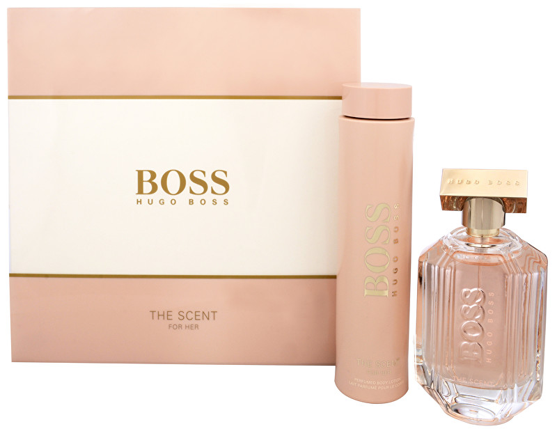 Hugo Boss Boss The Scent For Her - EDP 100 ml   telové mlieko 200 ml