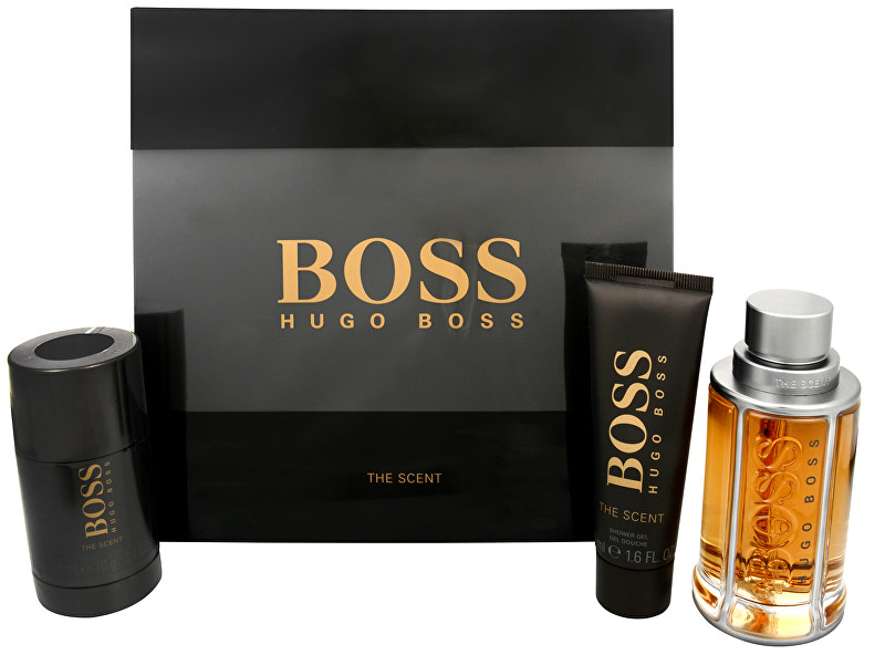 Hugo Boss Boss The Scent - EDT 100 ml + tuhý deodorant 75 ml + sprchový gél 50 ml