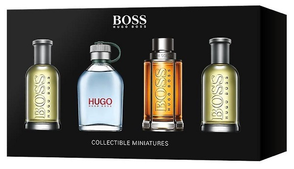 Hugo Boss Boss No. 6 Bottled - EDT 2 x 5 ml + Hugo EDT 5 ml + Boss The Scent - EDT 5 ml