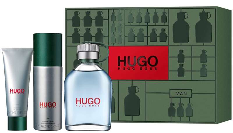 Hugo Boss Hugo - EDT 125 ml + deodorant ve spreji 150 ml + sprchový gel 50 ml